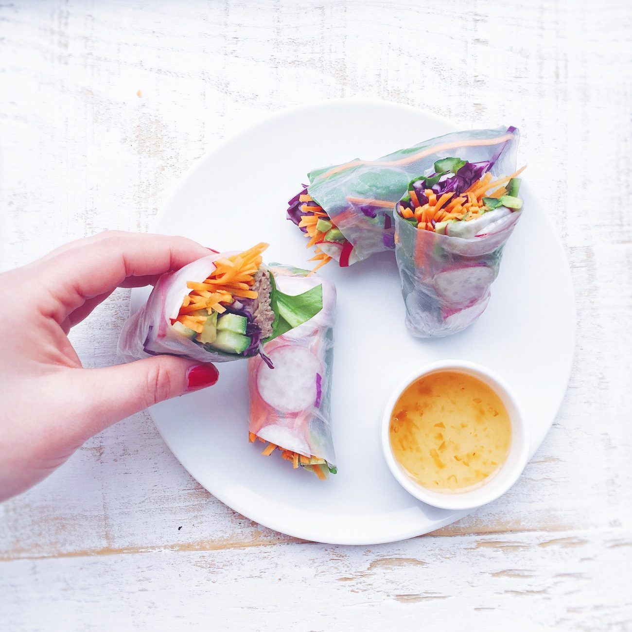 Spring roll by Marie Gourmandise