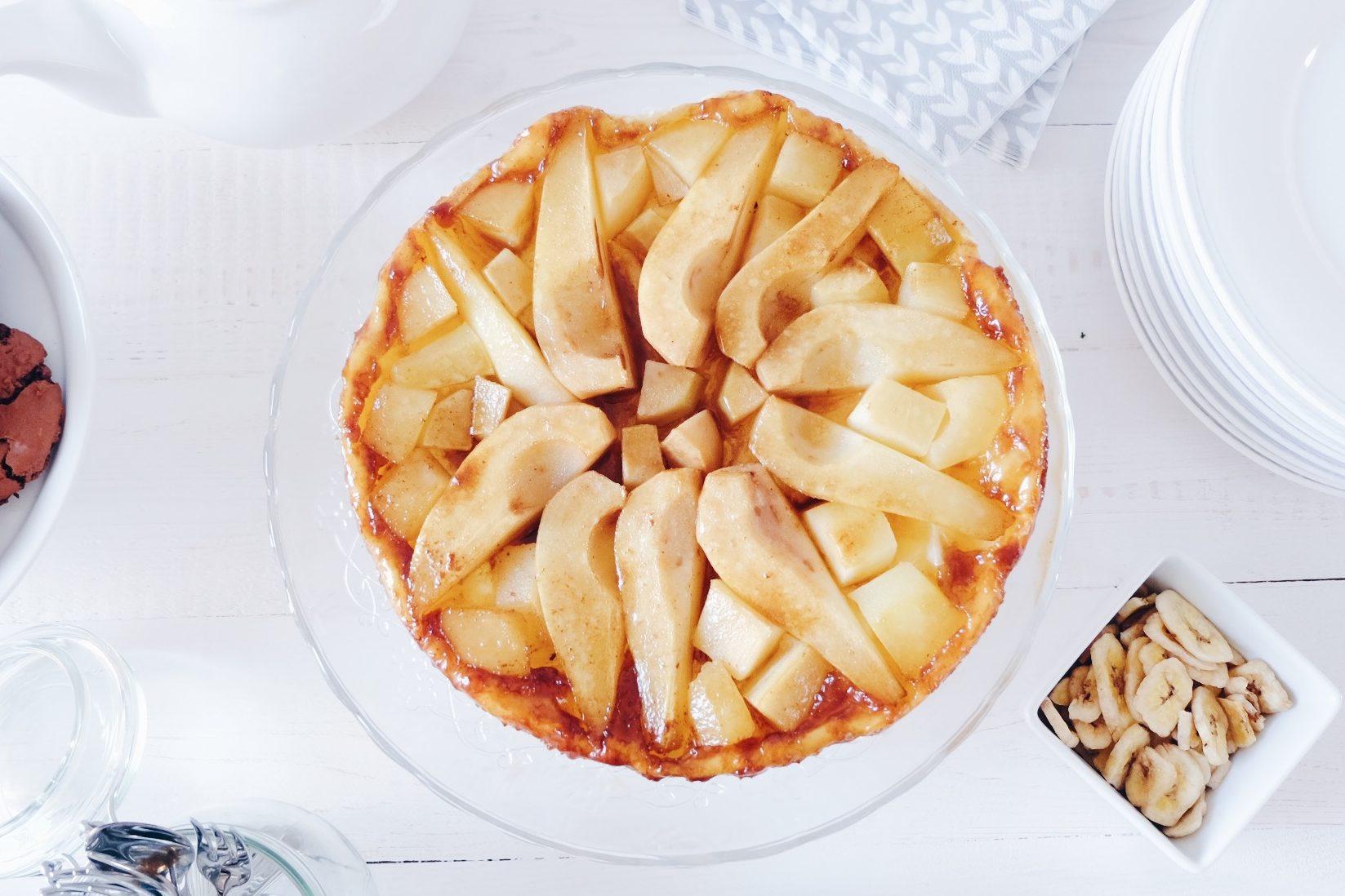 Tarte Tatin aux poires & cassonade