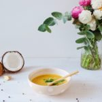 Soupe carotte curry coco