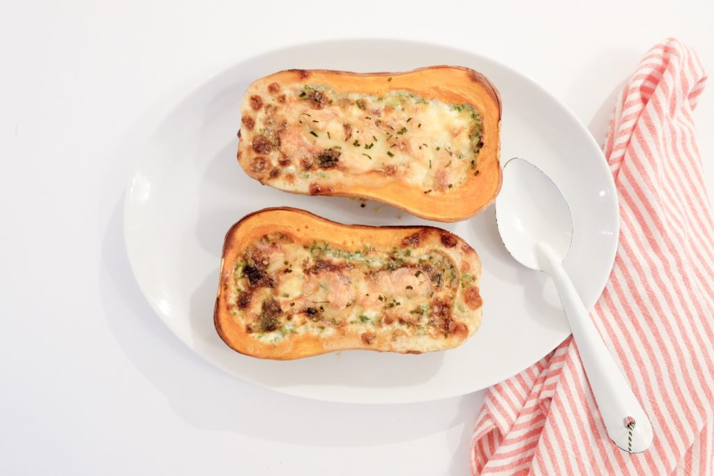 butternut farci chèvre marie gourmandise